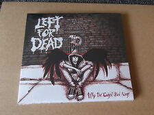 LEFT FOR DEAD why the caged bird sings CD  punk NEW COPY feat kieran RESTARTS