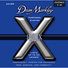 Dean Markley 2512PN Helix Pure Nickel Electric Guitar Strings 9-46 gauge
