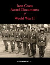 Iron Cross Award Documents of World War II
