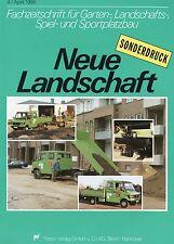 Presión especial 1990 mercedes transportador paisaje nuevas 4 90 test test informe camiones