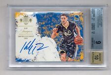 KLAY THOMPSON 2015-16 COURT KINGS IMPRESSIONIST INK AUTO #1/40 BGS 9 10 WARRIORS