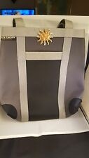 "HANDBAG LOLITA CACHOU bag made in France  13""X15""  black & Gray"