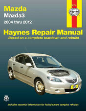 HAYNES SERVICE REPAIR WORKSHOP MANUAL BOOK MAZDA 3 2004-2012