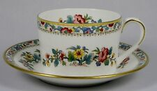 COALPORT MING ROSE Can Style Cup & Saucer Set