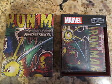 NEW Marvel Vintage Comics Iron Man Bi-Fold Leather Wallet with Collectible Box