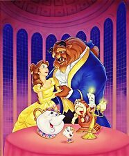Beauty and The Beast with Friends cross stitch pattern