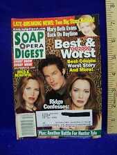 SOAP OPERA DIGEST - 26 DEC 2000 == BEST & WORST OF 2000 / BEST COUPLES, WORST