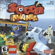 Age 6+ LEGO SOCCER MANIA New for PC XP Vista SEALED