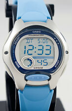 Casio LW200-2BV Ladies Light Blue Digital Watch LED Light Sports