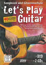 Let's Play Guitar - Songbook und Gitarrenschule + 1 Original Sharkfin Plec weiß