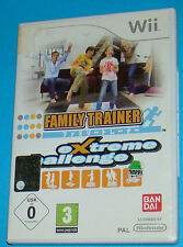 Family Trainer - Extreme Challenge - Nintendo WII - PAL
