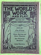 THE WORLD'S WORK & PLAY - Edwardian Shilling Monthly - Aug. 1905 - Henry Norman