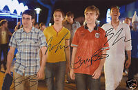 THE INBETWEENERS CAST AUTOGRAPH SIGNED PP PHOTO POSTER