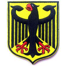 GERMAN EAGLE ARMY U.S. USA 3D US BADGE MILITARIA TACTICAL EMBROIDERED HOOK PATCH