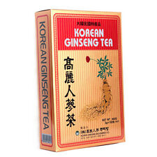 Korean Ginseng Tea 0.10oz(3g) 100 bags pack Reduce Stress Health Extract Root