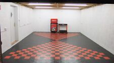 Double Garage Flooring Interlocking Floor tiles £17.99psm heavy duty £425 deliv