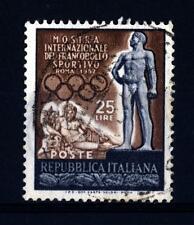 ITALIA REP. - 1952 - Mostra Internazionale del Francobollo Sportivo a Roma - 25L