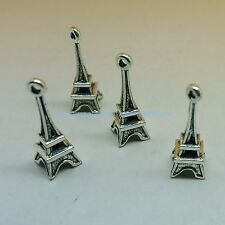 Eiffel tower charm 20pcs pendant silver DIY charms for jewelry making wholesale