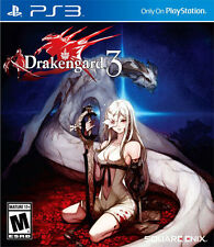 Sony PS3 Playstation 3 Spiel ***** Drakengard 3 *************************NEU*NEW