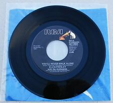 Elvis Presley 447-0665 You'll Never Walk Alone / We Call On Him 45RPM ** Mint-**