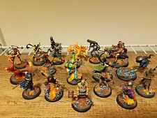 Misaki and Ten Thunders Lot - Painted - Malifaux - The Thunder