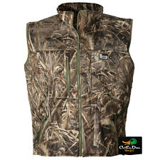 BANDED GEAR ATCHAFALAYA HUNTING VEST WIND PROOF  FLEECE LINED MAX-5 CAMO 3XL
