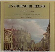 Verdi: Un Giorno Di Regno / Simonetto, Capecchi, Pagliughi, Bruscantini LP Cetra