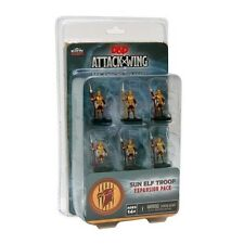 D&D DUNGEONS and dragons attaque aile: Sun ELF garde troupe vague 1 expansion pack
