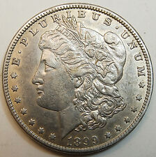 Usa   One Dollar 1899 O (New Oleans) Silver Morgan  Very Nice Coin