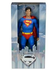 "NECA SUPERMAN 1/4 SCALE 18"" inch CHRISTOPHER REEVE ACTION FIGURE 1978 MOVIE"