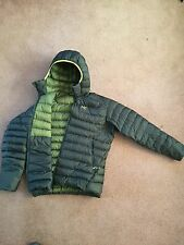 NEW ARCTERYX CERIUM LT HOODY DOWN JACKET MENS XL NAUTIC GREY  - FREE SHIP