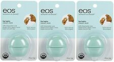 3 Pack EOS Smooth Sphere Evolution Lip Balm Sweet Mint Flavor .25oz