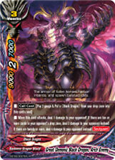 Buddyfight x 1 Great Demonic Black Dragon, Arch Enemy [D-BT02/0037EN R (FOIL)] E