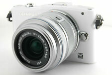Olympus PEN mini E-PM1 mirrorless digital camera kit w. 14-42mm lens *white