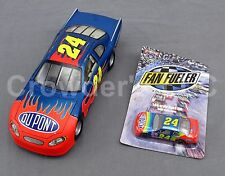 Lot of 2 NASCAR Inspired Jeff Gordon #24 Cars; Display Model & Fan Fueler Adult