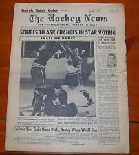 The Hockey News January 31 1959  Bobby Hull / Johnny Bucyk