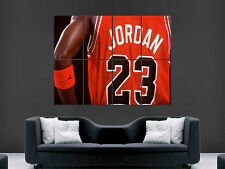 Michael Jordan Basketball géant mur Poster Art Photo Impression Grand énorme