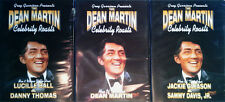 DEAN MARTIN - CELEBRITY ROASTS - (3) DVD'S - SEALED - LUCY, GLEASON, DEAN, SAMMY