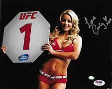 Carly Baker Signed 8x10 Photo PSA/DNA COA UFC UK Octagon Girl Picture Autograph