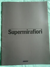 Fiat Supermirafiori range brochure Apr 1978 large format 2.0289
