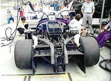 SILK CUT JAGUAR XJR6 PHOTOGRAPHS 6 1986 1000KM BRANDS HATCH GROUP C ENGINE BODY