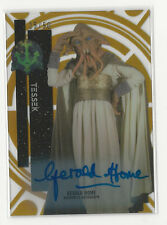 Gerald Home 2015 Topps Star Wars High Tek Autograph Card Auto Gold Rainbow /50