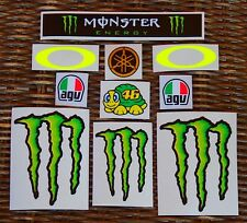 *** NEW 2016*** VALENTINO ROSSI  HELMET KIT SET COMPLETE - STICKER DECAL VR46