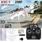 2.4G 4CH Quadcopter RC Helicopter 6 Axis Heli Mini UFO Drone 2.0MP HD Camera RTF