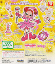 Magical Ojamajo Doremi Poron & Compact Charm Gashapon Set of 4pcs