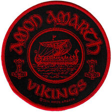 Amon Amarth - Vikings Circular Patch 9cm Dia