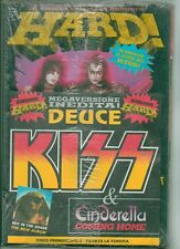 KISS HARD magazine (ITALY) and DEUCE VINYL SINGLE STILL SEALED FROM 1990!