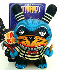 "DUNNY 3"" 2009 SERIES KRONK FAT CAT CARNY 1/25 KIDROBOT DESIGNER TOY FIGURE"
