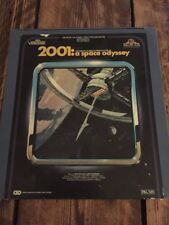 CED Video Disc PAL/UK  2001: A Space Odyssey A Stanley Kubrick Production