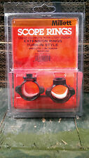 "Millett Extension 1"" MediumTurn-In-Style Scope Rings"